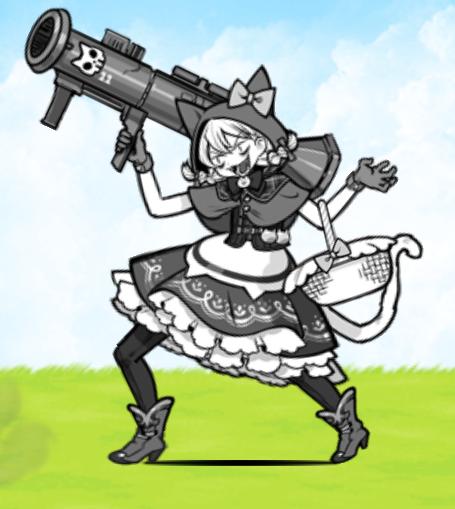 【にゃんこ大戦争】短射程のミーニャの使い道が全然わからないんですが?(ネコずきん・ラブリィずきん)